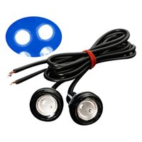 águia olho levou luz da cauda venda por atacado-2pcs 12V Car Motorcycle 10W LED Eagle Eye diurnas DRL Cauda Lâmpada Luz backup Estacionamento Luz Auto Bulb Car Light LED