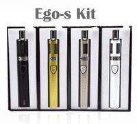 Wholesale ego resistance - Yesgo Ego-S Kit Innovative Vape Pen Subtorch Starter Kit Atomizer Core 1100mah Newest Ecigarette Low Resistance LED Button
