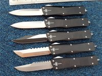 Wholesale Camping Tools Set - Microtech Marfione Custom Combat Troodon Interceptor knife Bowie   Hellhound Tanto   Spear point D2 steel blade knives with tri-bit tool