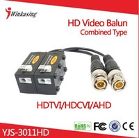Wholesale CVI TVI AHD HD CCTV Video Balun Combined Design Randomly UTP YJS HD