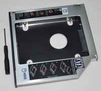 Wholesale lenovo disk drive resale online - nd Hard Drive Disk HDD SSD Caddy Adapter for Lenovo IdeaPad G575 G460 G560