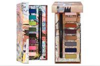 Wholesale neutral eyeshadow palettes for sale - Group buy New colors eyeshadow Stila Eye Makeup AS ART Jean Michel Basquiat Tenant Eyeshadow Palette Gold Griot Neutral Tone Eyeshadow with brush
