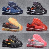 Wholesale Plastic Bowl Slip - 2018 Cheap Outdoor Air Plastic Drop Breathable Running Shoes Men Women Non-Slip Fashion Athletics Discount US 5.5-12