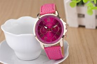 Wholesale Ladies Black Colour Watches - Wholesale Hot sales colours Ladies men Watch Fashion belt Electronic quartz watch for men and women Free shipping