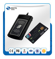 Wholesale Contactless Smart Cards - All In One ISO7816 ISO14443 Triple DualBoost Contact and Contactless Smart NFC Rfid Card Reader ACR1281U-C1