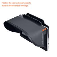 gps güneş güneşlik toptan satış-TFY GPS Navigasyon Güneş Gölge Visor Artı Garmin nüvi 2797LMT için Esnek Visor Uzatma Parçası 7-Inch Taşınabilir GPS ve Diğer 7-Inç GPS