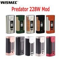 Wholesale Metal Banks - Original Wismec Predator 228 TC Box Mod 228W Upgradeable Firmware Identifiable Separate Battery Power Bank Designed 100% Genuine 2235025