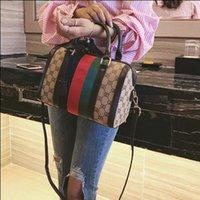 Wholesale Cross Stitch Cotton Fabric - Women Big Grid Bag Luxury Handbags Women Bags Designer 2017 Famous Brands Shoulder Bag Stitching Ladies
