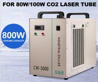 Wholesale Water Cooled Chiller - AC 110V 60Hz CW-5000DG Industrial Water Chiller for 80 100W CO2 Laser Tube Cooler LLFA