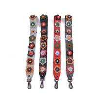 ingrosso cinghie regolabili-Tracolla a tracolla colorata per donna Borsa tracolla regolabile per donna Accessori per fiori Rivetti Cintura regolabile per borsa