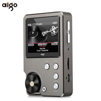 Wholesale Watches Alloy Zinc - Wholesale- Universal Premium Gray Aigo 105 Zinc Alloy HiFi Enthusiast Lossless Music 320 x 240 Resolution 2 Inches 1500mAh 8GB MP3 Player