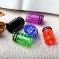 Wholesale tip boxes - 510 Plastic drip tips EGO transparent Mouthpiece Colorful Spiral Drip Tip for CE3 CE4 EGO 510 Thread Vaporizer Thank Atomizer Box mods DHL
