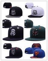 Wholesale Baseball Caps Marvel - Wholesale cheap 2017 New Fashion Design Comic Marvel Snapback Hats Baseball gorras Star Wars Sports Hip Hop Snapback Caps