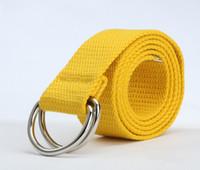 Wholesale Mens Canvas Webbing Belts - Wholesale- Free Shipping Fashion Unisex Plain Webbing Mens Boys Waist Belt Waistband Casual Canvas Belt