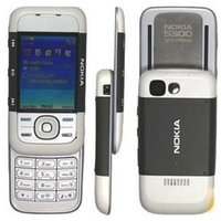 Wholesale Camera Slider Wholesale - Nokia 5300 Slider Mobile Phone 2.1Inch Screen Single Sim Support TF Card FM GSM Unlocked Feature Phone