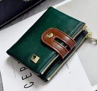 Wholesale Vintage Style Folders - 2017. Zero wallet. New pattern. Clutch bag. Women's Bags. Change folder. Casual fashion card bag. Short. PU. Soft.Wallets.