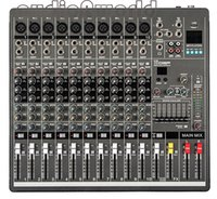 Wholesale Dj Audio Mixers - Wholesale- Professional Audio Mixer 10 Channels Mixing Console YA1000 Mezcladora De DJ