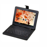 Wholesale 9 Inch Tablet PC Android Allwinner A33 Quad Core RAM M G ROM Bluetooth with best packages