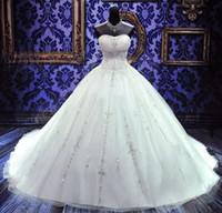 ingrosso bordare abito da sposa principessa-