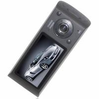 цифровая панель приборов оптовых-Автомобильный видеорегистратор детектор 2.7-дюймовый экран двойной камеры автомобиля Blackbox DVR с GPS регистратор и G-сенсор X3000 автомобильная камера 1 шт.