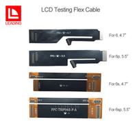 ingrosso flessione del tester iphone-Per iPhone 6 6 plus 6s 6s plus 4,7 5,5 pollici LCD Display Tester Prove Flex Cable Extension Spedizione gratuita