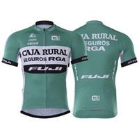 ingrosso vestiti della bici della porcellana-CAJA RURAL Racing Suit set manica lunga mountain bike abbigliamento ciclismo mtb abbigliamento ciclismo bicicletta Cina kit da ciclismo