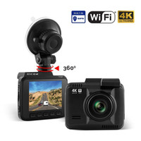 4K Car Dash Cam HD 2160P Dash Board Camera, LCD 2.4