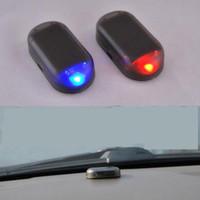 iluminação porsche venda por atacado-2016 venda quente 1 PCS carro levou luz sistema de segurança aviso de roubo de flash de alarme de carro LED luz