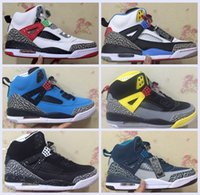 Wholesale Mars Sons - Free Shipping Wholesale Air Retro 3.5 Spike Lee Black White Blue Gary Yellow Oreo Son of Mars Basketball Shoes