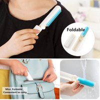 Washable Lint Dust Hair Remover Cloth Sticky Roller Brush Cleaner Складной NEW