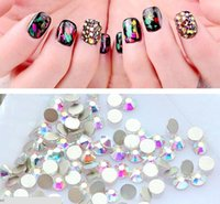 Wholesale Nail Products 3d Art - 1bag  lot New Product 3D Nail Art Rainbow Rhinestones Mullti Color Options Nail Stickers Nail Diamonds