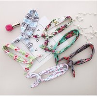 NOVITÀ Baby Flower Headband Bunny bohemien capelli archi FAI DA TE Fasce Baby girl Fascia per capelli foulard Ornamenti Toddler girls Head Wrap Twisted