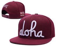Wholesale british travel - 5 styles aloha army Snapback hats British flag women & men outdoor casual cotton sun hat travel touca baseball caps