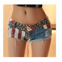 Wholesale Denim Cut Off Shorts - New Sexy Cut Off Low Waist Women Shorts Denim Jeans Shorts Mini Hot jean Nightclub Party Bars jeans Swimsuits jeans