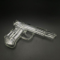 pistolas de cera al por mayor-3 colores pistola pistola de agua tubos de agua pistola pipa de vidrio Bong Cachimba cera pluma para vaporizador de hierba seca