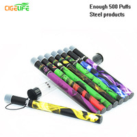 2016 New Direct Selling 10 Unids / lote Atacado Shisha Canetas Time E Hookah 500 Puffs Pipe Pen Electronic Cigarette Stick Sticks Descartável