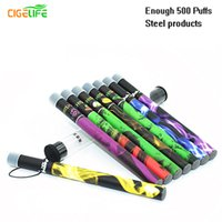 Wholesale Hookah Time Disposable - 2016 New Direct Selling 10 Unids lote Wholesale Shisha Pens Time E Hookah 500 Puffs Pipe Pen Electronic Cigarette Stick Sticks Disposable