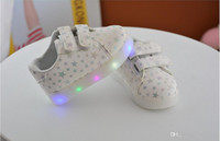 online shopping Led Luminous Shoes - 2017 MAX 2017 New Kids Led Lighted Shoes Baby Boys Girls Luminous Athletic Board Shoes Children Casual Sneakers Baby Boy Girl Boots Child Fl