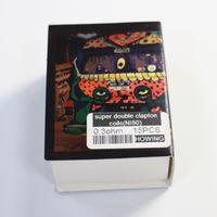 çift ısı iletkenleri toptan satış-Süper Çift Clapton NI80 Önceden Yapılmış Bobin Nichrome 80 Tel 0.3oh 15 adet Önceden oluşturulmuş Bobinler Premade Wrap Rda Vape için Kitap Howing Teller Isıtma