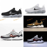 Wholesale Blue Labs - New Color Originals Quality Air Lab Zoom Spiridon 16 OG White   Wolf Grey Black Red Damp Retro Sneaker Mens Running Shoes 39-45