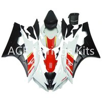 Wholesale Yzf Cowling - 3 gift New Fairings For Yamaha YZF-R6 YZF600 R6 06 07 2006 2007 ABS Plastic Bodywork Motorcycle Fairing Kit Cowling Cover White black red