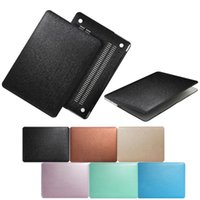 Wholesale Surface Laptop Covers - Silk Pattern Surface Hard Case Cover for New MacBook 13.3 Air Pro Retina 12 inch 15.4 Pro Touch Bar A1706 A1708