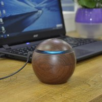 Wholesale Portable Keyboards - USB Ultrasonic Aroma Humidifier Aromatherapy 130ML Mini Portable Mist Maker 6 Colors Changing Diffuser All Country Useable 0703060