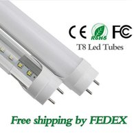 Wholesale Led Lamps G13 - best quality T8 4ft 22W 1.2M 96led LED fluorecent tube light G13 1.2m PC SMD2835 led Tubes Lamps AC 85-265V replacement within 3 year