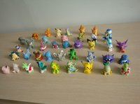"Wholesale Mew Poke - Hot New 20Pcs Lot 1.2""-2"" 3CM-5CM Poke Go Finger Puppets PVC Pikachu Snorlax Mew Totodile Piplup Lapras Action Figures Gifts Toys"