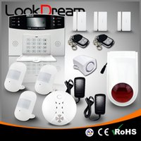 LookDream Smart Security Wireless GSM Einbrecher Home Alarm System Unternehmen Direktor Vertrieb Low Consumption Power Home Safe 433mhz