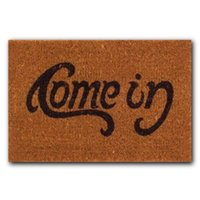 Wholesale Funny Floor Mats - Wholesale- 1pc Non Slip Floor Mat Cushion Home Bathroom Mat Carpet Rug Welcome Go Pattern Away Doormat Funny Indoor Outdoor Use