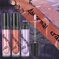 Wholesale bright lipstick sets resale online - 3PCS Sets Abnormal Metallic Lip Gloss High Pearl Bright Lipstick Long Lasting Moisturizer Lip gloss Cosmetic