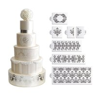 Decorating Set st set - Lace Set Cake Stencil Set Cake Side Decorating Stencils Classic Cake Side Decoration Wall Stencil Designs ST
