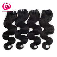 Wholesale ms lula hair - Ms Lula Body Wave Hair Weaves Brazilian Peruvian Malaysian Indian Mongolian Virgin Hair Extensions 100% Remy Human Hair Weave 4 Bundle Deals
